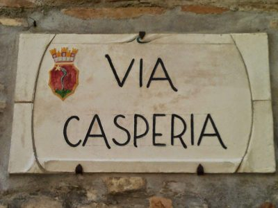 Village of Casperia, beautiful place in Italy